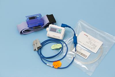 睡眠ポリグラフィ検査(いびき、睡眠時無呼吸症候群の検査機器)